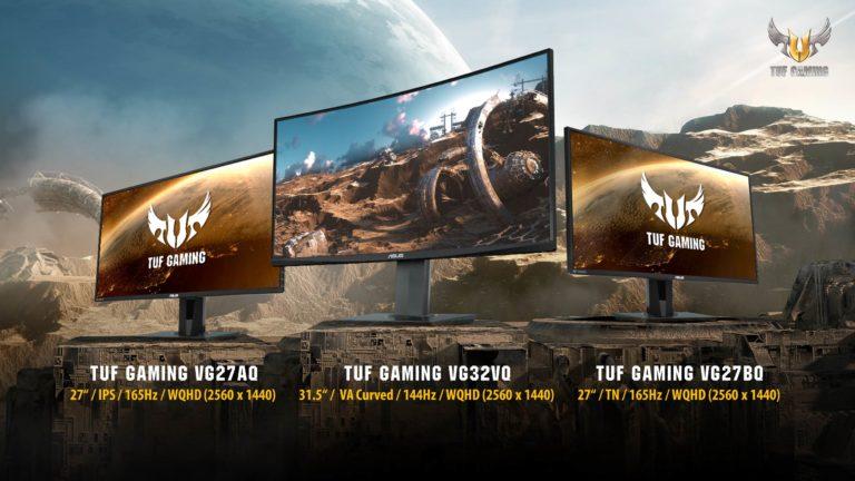 Asus TUF Gaming oyuncu monitörlerini tanıttı!