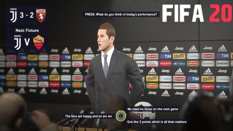FIFA 20 kariyer modu için yeni yama geliyor