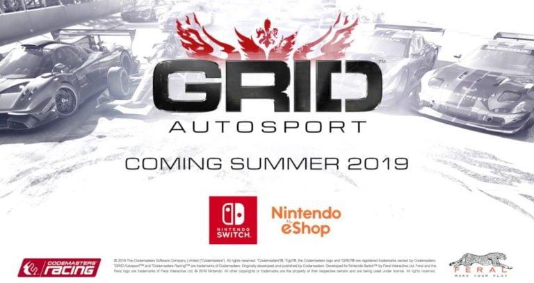 Grid Autosport şimdi de Nintendo Switch için geliyor