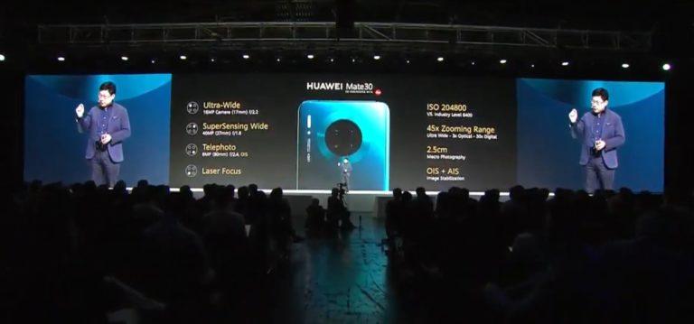 Huawei Mate 30 ve Mate 30 Pro'da Google servisleri çalışacak!