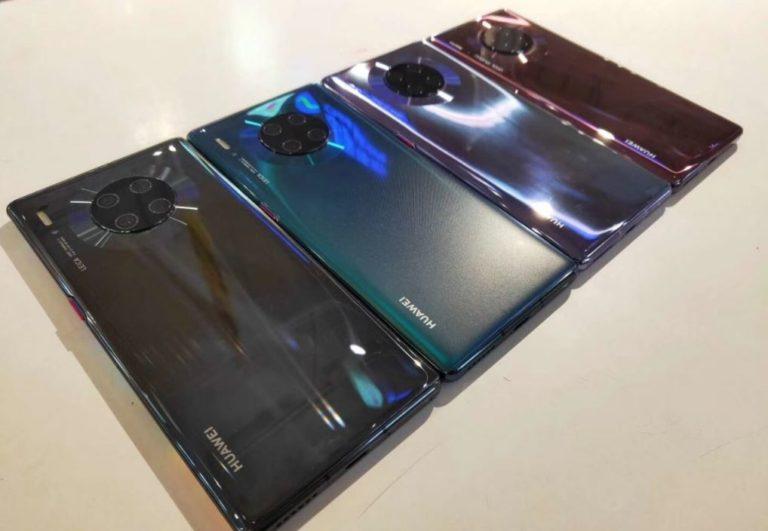 Huawei Mate 30 Pro canlı canlı görüntülendi!