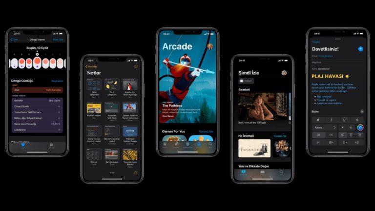 iOS 13 güncellemesi çıktı! İndir!