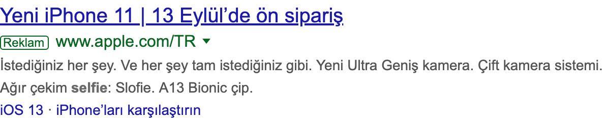 iPhone 11 Türkiye'de ne zaman