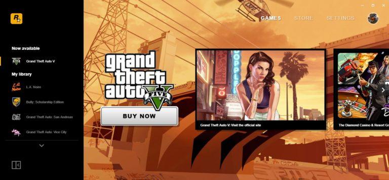 GTA San Andreas hediyeli Rockstar Games Launcher çıktı!