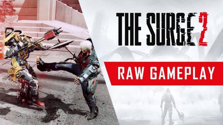 The Surge 2 için yeni oynanış videosu