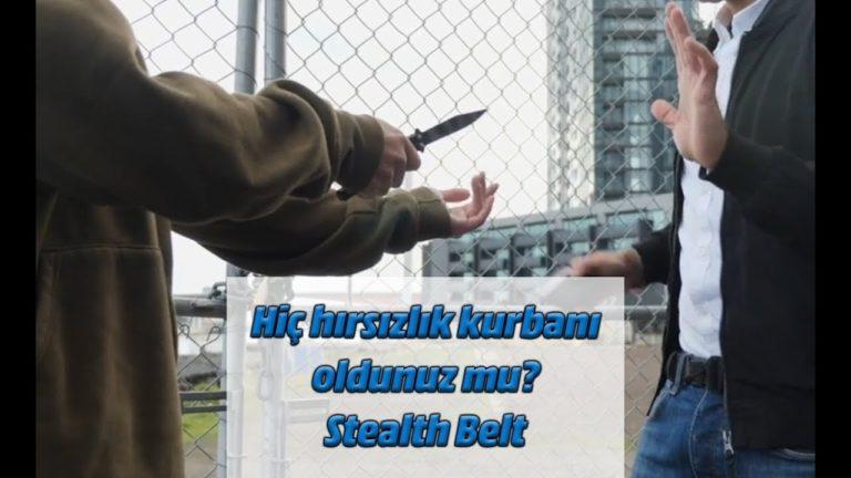 Hiç hırsızlık kurbanı oldunuz mu? Stealth Belt