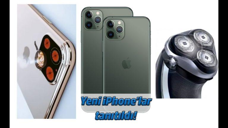 Bu bir tıraş makinesi, hayır ocak? Hayır, iPhone 11 Pro Max!
