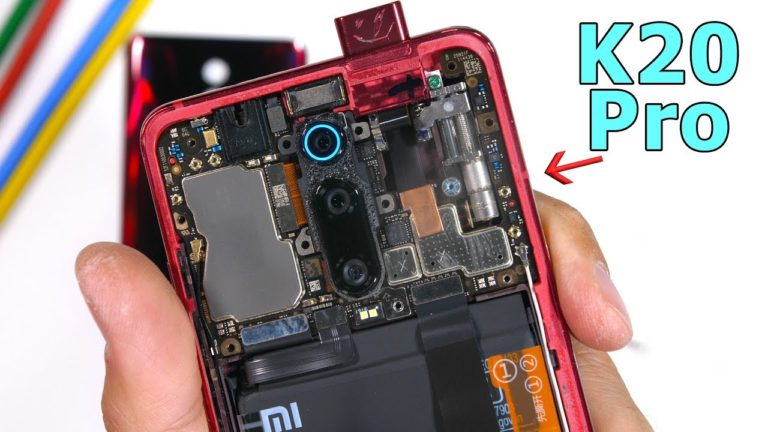 Xiaomi Mi 9T Pro parçalarına ayrıldı!