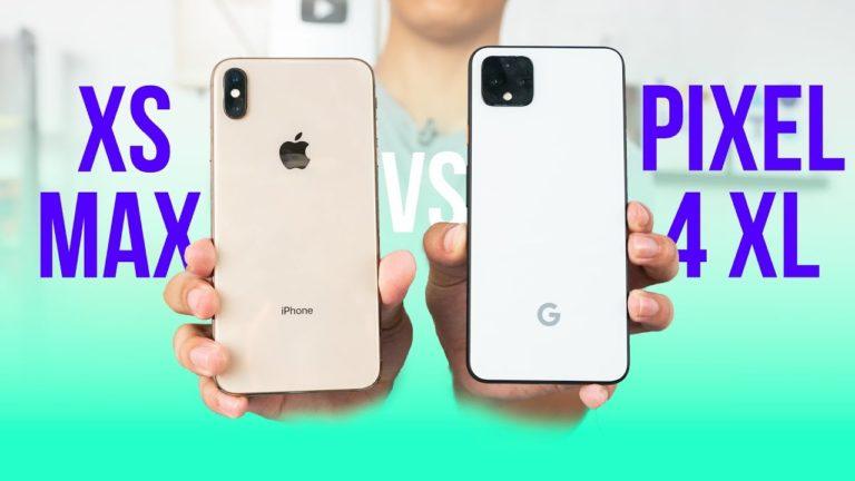 Google Pixel 4 XL ile iPhone XS kameraları karşı karşıya!