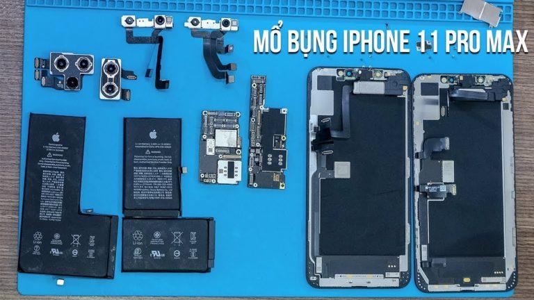 iPhone 11 Pro Max parçalarına ayrıldı