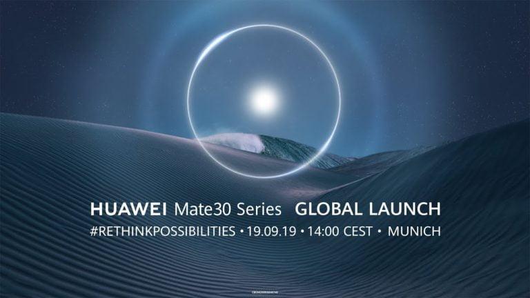 Huawei Mate 30 etkinliği nasıl canlı izlenir?