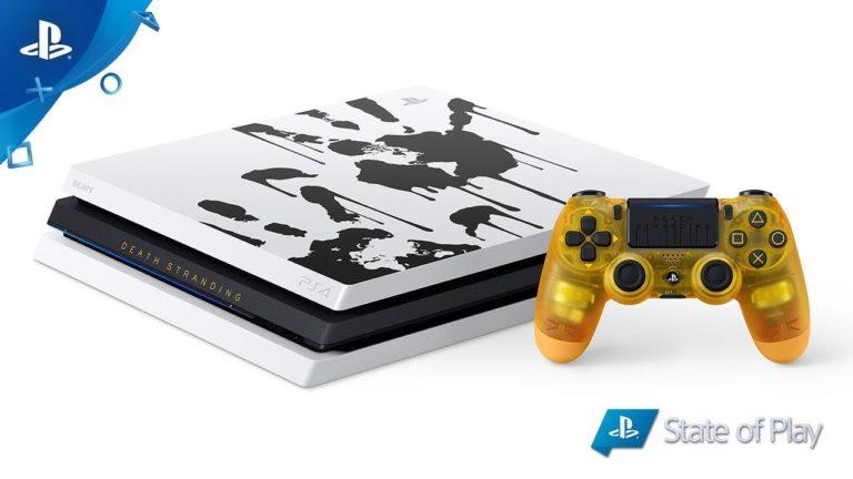 PS4 Pro Death Stranding Limited Edition duyuruldu!