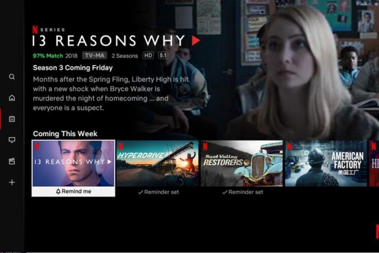 Netflix hatırlat özelliği kullanıma girdi