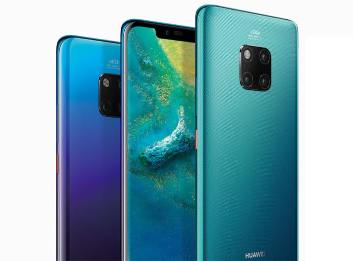 Huawei Mate 20 Pro için Android 10