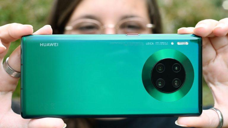 Huawei Mate 30 satış rakamaları ile şaşırttı!