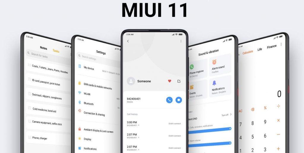 MIUI 12 kararlı sürümü alan yeni Xiaomi telefonları