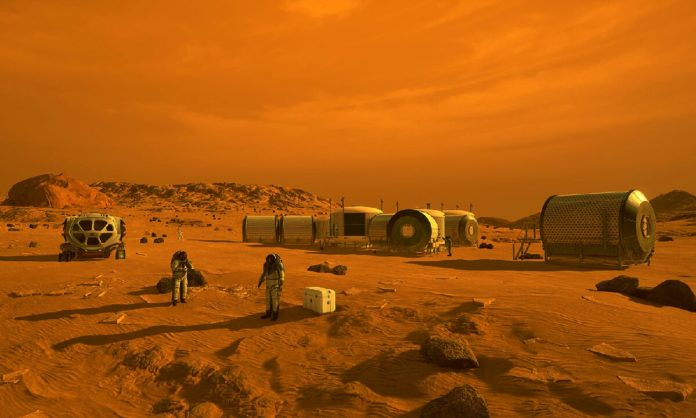 NASA Mars keşif aracı
