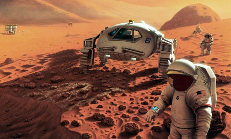 Mars yüzeyinde büyük keşif: Göl tespit edildi!