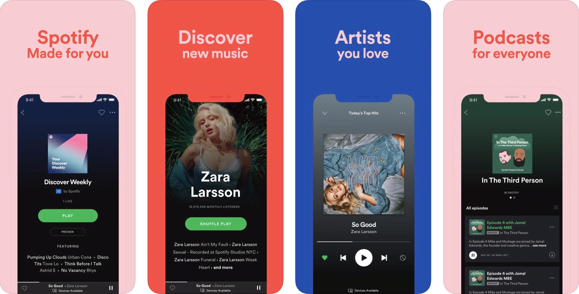 Spotify iOS 13