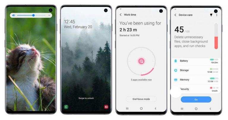 Galaxy S10 için Android 10 müjdesi!