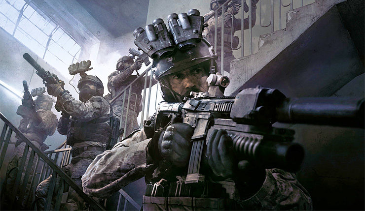 Call of Duty Modern Warfare sistem gereksinimleri