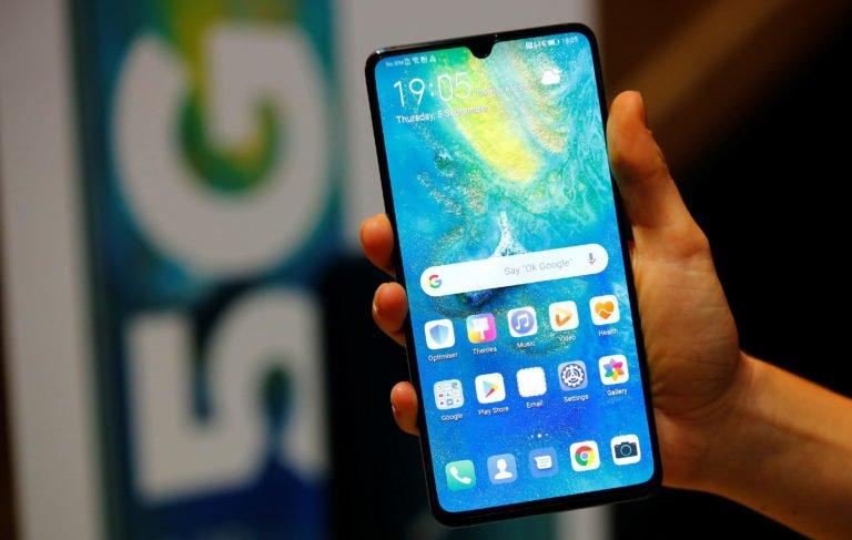 Huawei rakiplerine fark attı!