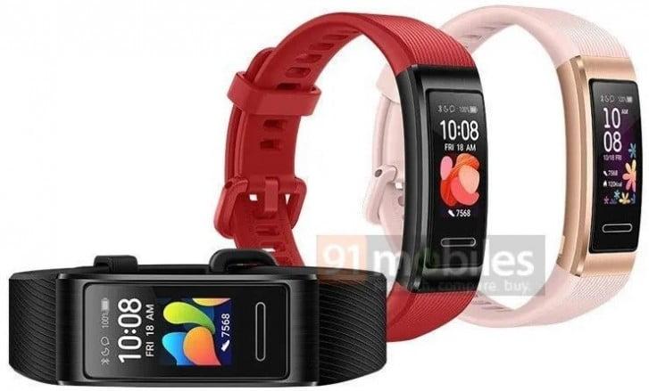 Huawei Band 4 Pro tüm hatlarıyla ortaya çıktı