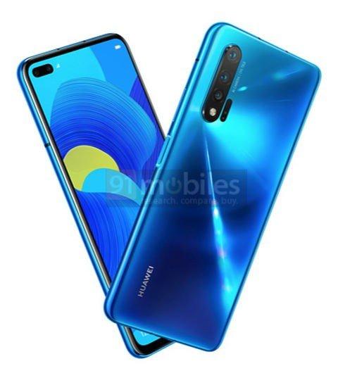 Huawei nova 6 5G delikli ekran tasarımıyla gelecek