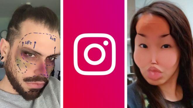 Instagram estetik ameliyat filtresini yasakladı