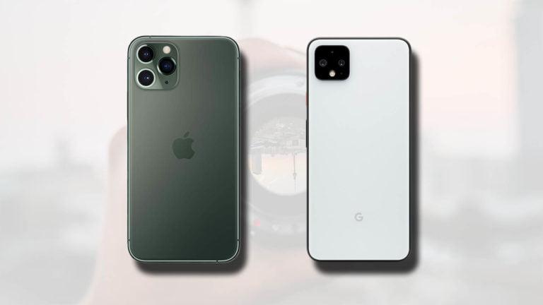 iPhone 11 Pro ve Google Pixel 4 kamera karşılaştırması