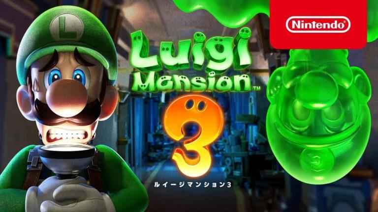 Luigi's Mansion 3 için yeni oynanış videosu