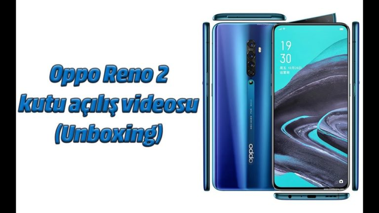 Oppo Reno2 kutu açılış videosu (Unboxing)