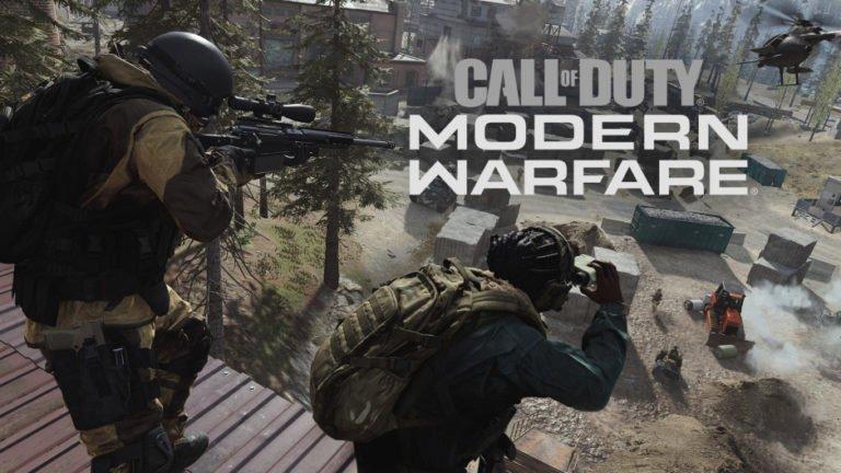 CoD Modern Warfare 1.05 güncellemesi yayınlandı