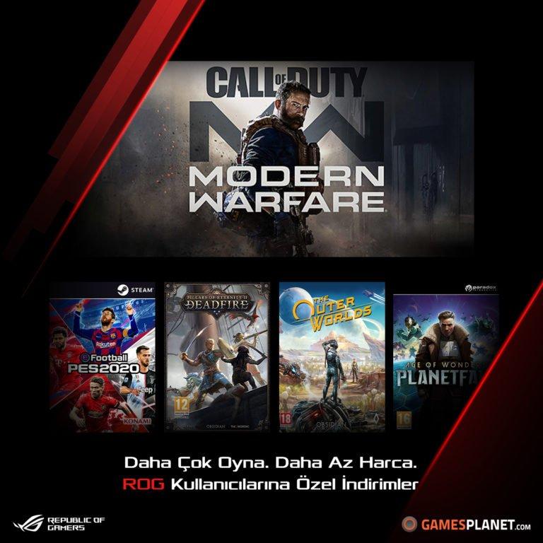 Asus Game Deals ile uygun fiyata oyun almayı sağlayacak!