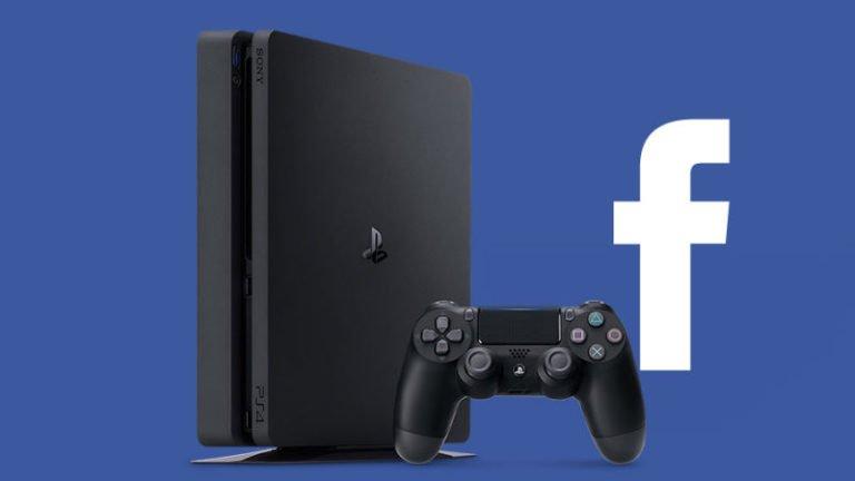 PlayStation 4 Facebook entegrasyonu için yolun sonu!