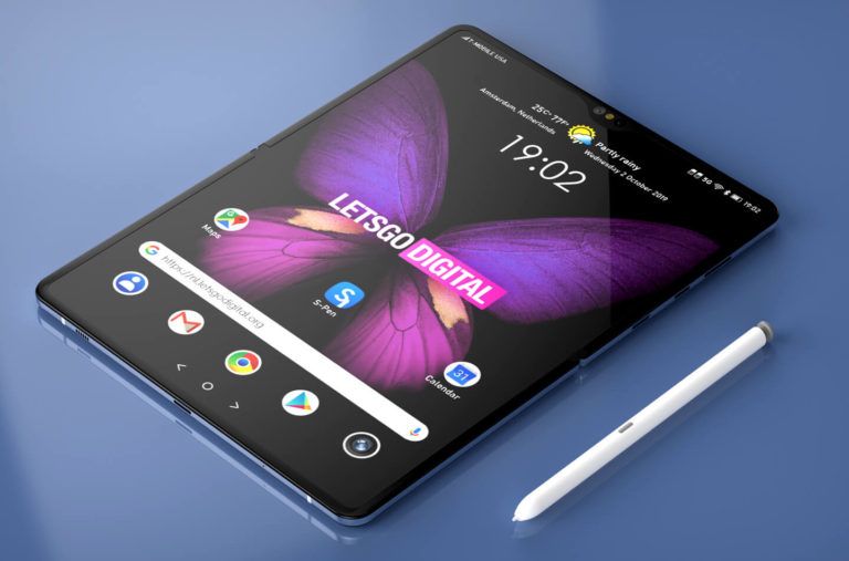 Galaxy Fold 2 S-Pen desteği ile gelebilir!