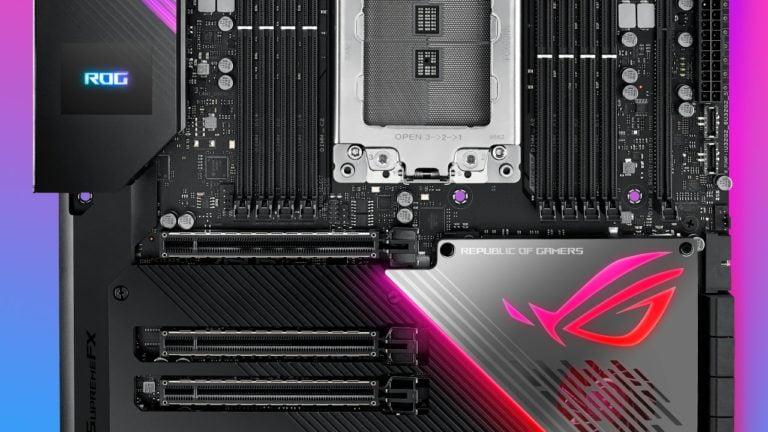 3. nesil AMD Ryzen destekli Asus TRX40 anakart tanıtıldı!