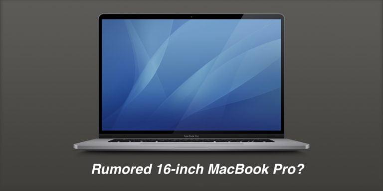 16 inç MacBook Pro bugün satışa sunulabilir!