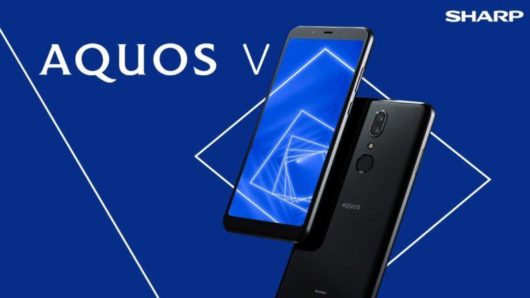 Sharp AQUOS V tanıtıldı! İşte özellikleri!