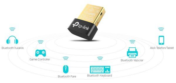 TP-Link UB400 Nano Bluetooth adaptör ile PC'nizi mutlu edin