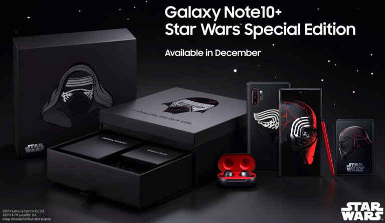 Galaxy Note 10 Plus Star Wars Edition geliyor!