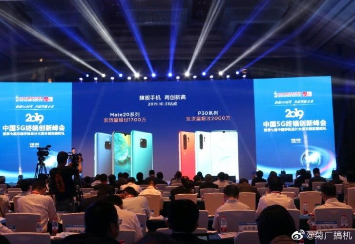 Huawei Mate 20 ve P30 satış rakamlarını açıkladı