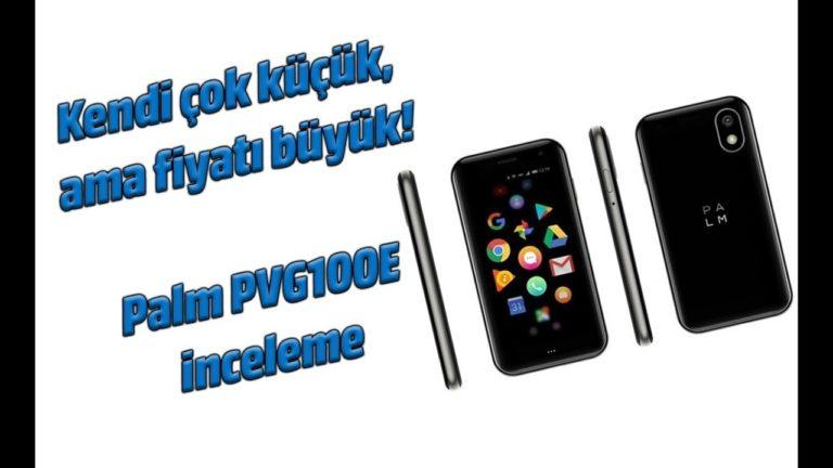 Palm PVG100E inceleme. Minimalist, avuç içi akıllı telefon