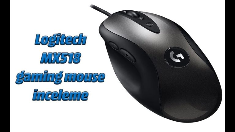 Logitech MX518 gaming mouse inceleme