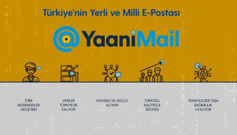 Turkcell YaaniMail kurumsal alana geçiyor!