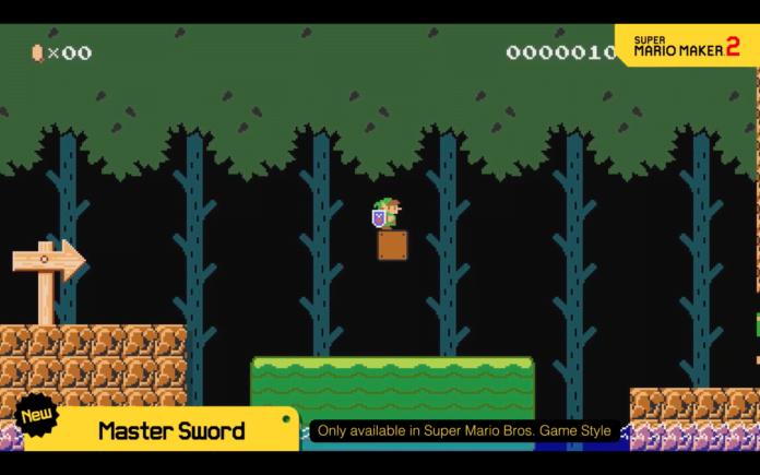 Link Super Mario Maker 2