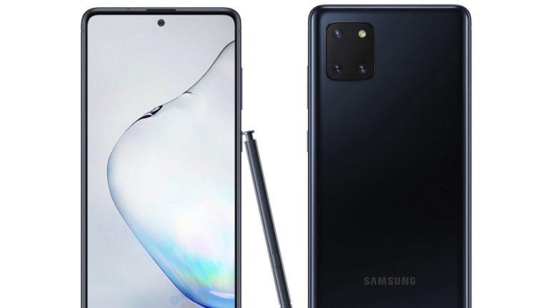 Karşınızda Galaxy Note 10 Lite!