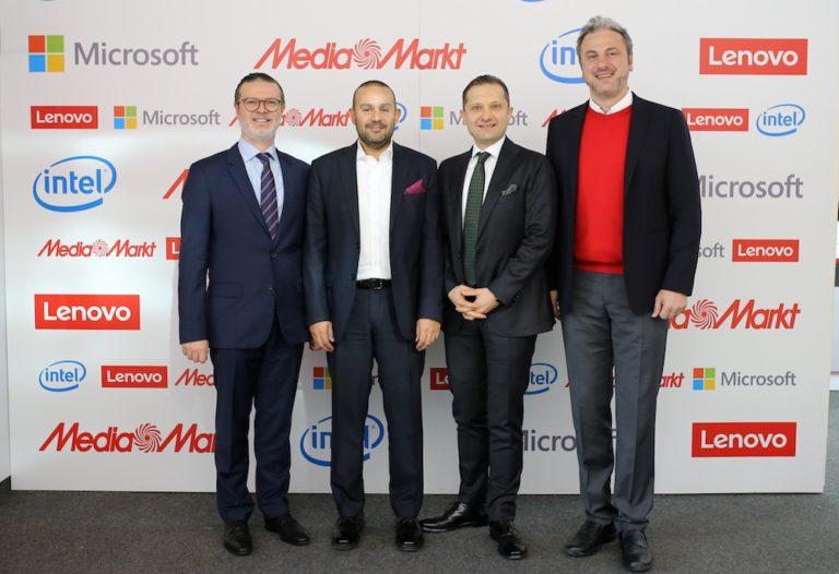 MediaMarkt, Microsoft, Lenovo ve Intel ortak hedefte buluştu
