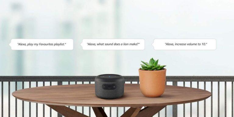 Taşınabilir akıllı hoparlör Amazon EIPSSE!
