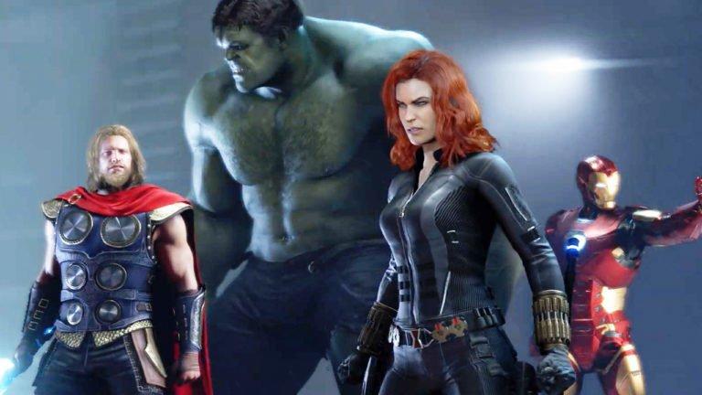 Marvel's Avengers oyunu çizgi roman oluyor